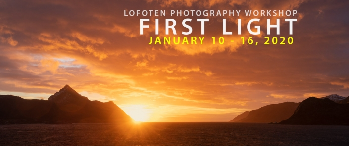 Lofoten Photo Tour - First Light - January 2020