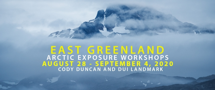 East Greenland Photo Tour - August 2020