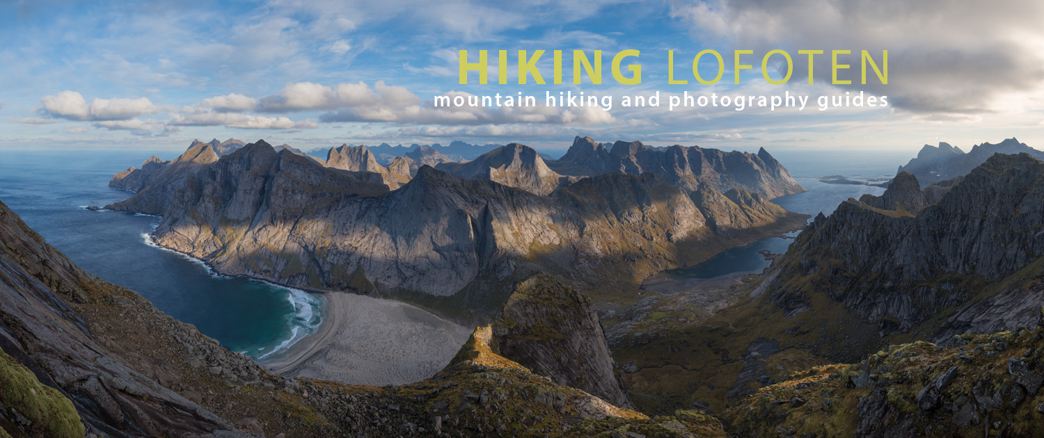Hiking Lofoten Islands Norway | Mountain HIking Guides