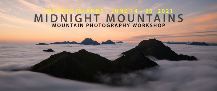 2021 Midnight Mountains - Lofoten Photography Tour
