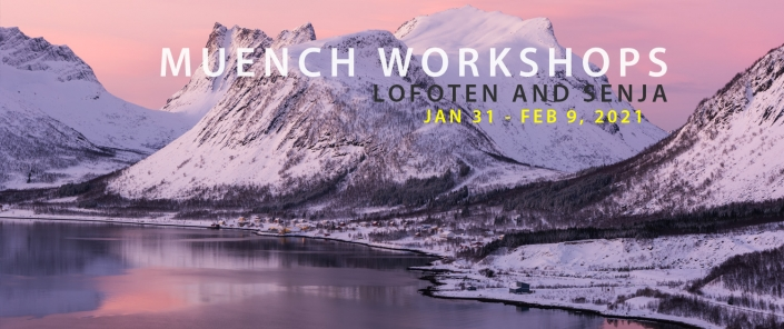 Muench Workshops Lofoten and Senja 2021