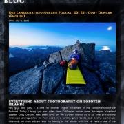 Der Landschaftsfotografie Podcast Interview
