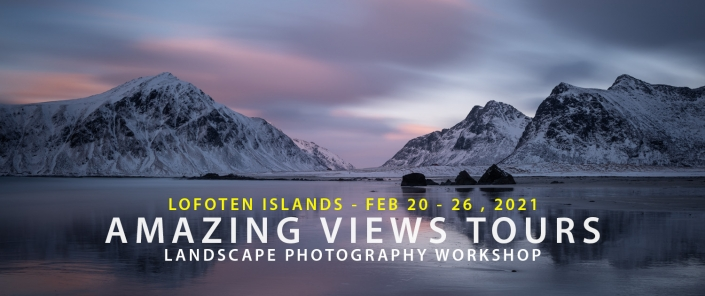 Lofoten Photo Tour - Amazing Views Tours Winter 2021