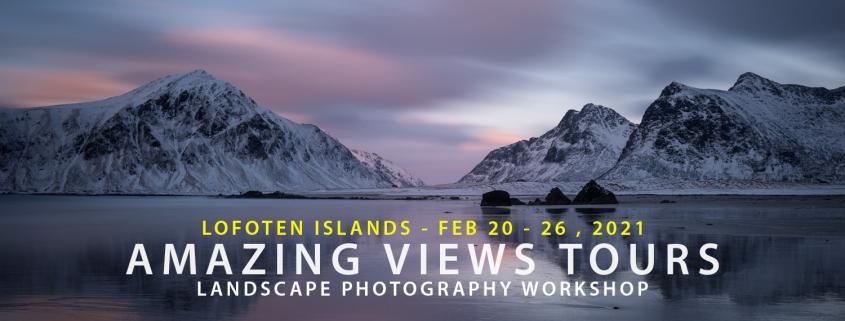 Lofoten Photo Tour - Amazing Views Tours Winter 2021