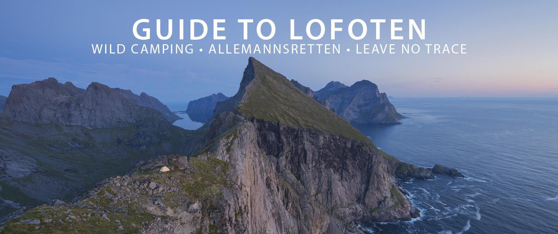 Camping Allemannsretten Leave No Trace - Lofoten Islands