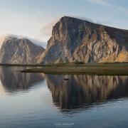 Kvalvika Reflection - Friday Photo #451